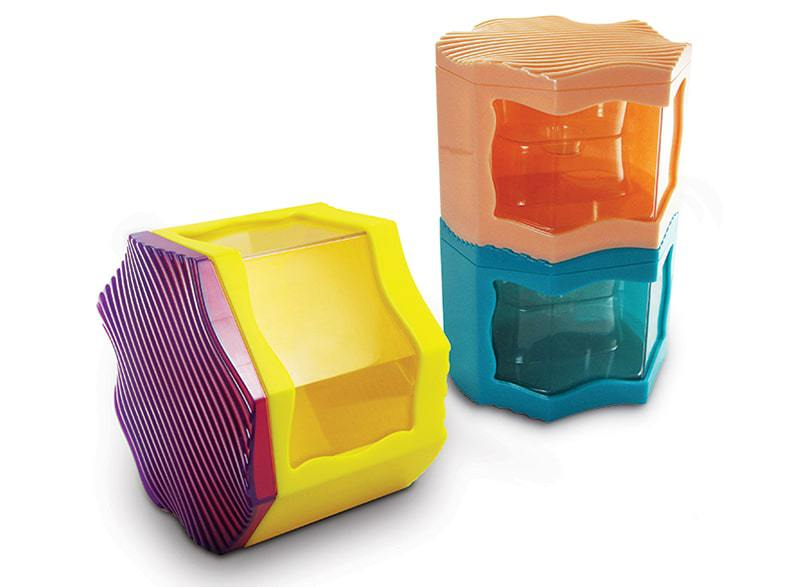 Crisp Plastic Candy Containers